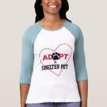 Adopt a Shelter Pet T Shirt