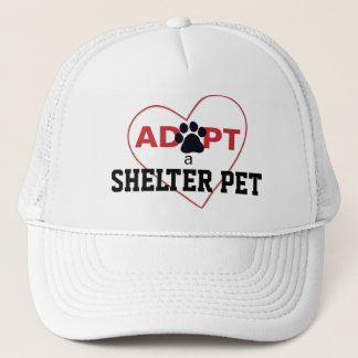 Adopt a Shelter Pet Trucker Hat