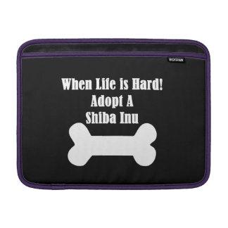 Adopt A Shiba Inu MacBook Air Sleeve