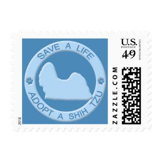 Adopt a Shih Tzu Postage Stamps