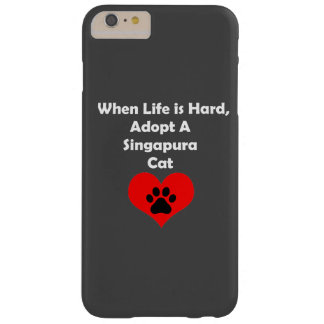 Adopt A Singapura Cat Barely There iPhone 6 Plus Case
