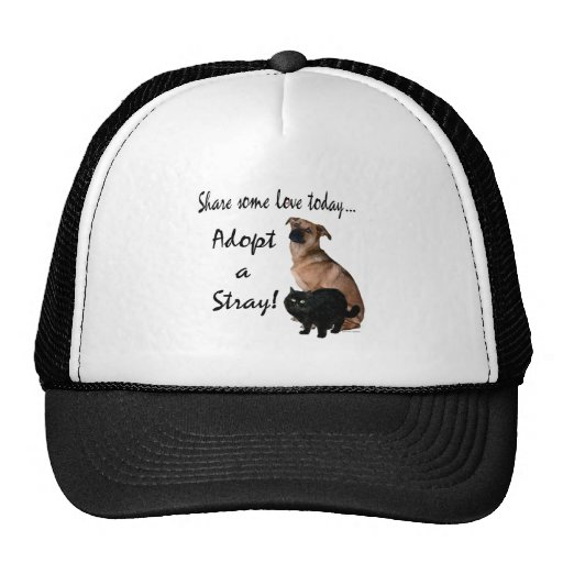 Adopt A Stray 3 Mesh Hat