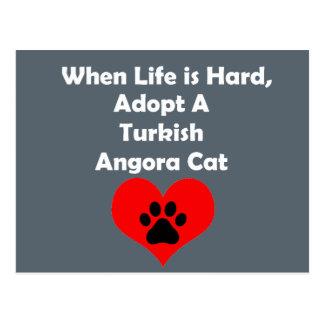 Adopt A Turkish Angora Cat Postcard