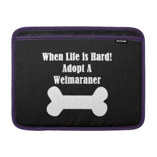 Adopt A Weimaraner MacBook Air Sleeve