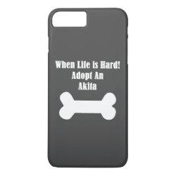 Case-Mate Tough iPhone 7 Plus Case with Akita Phone Cases design