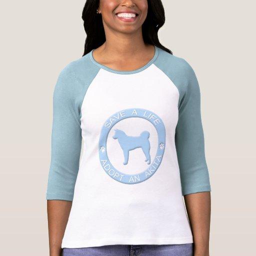 Adopt an Akita T-Shirt