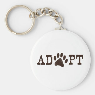 Adopt an animal keychain