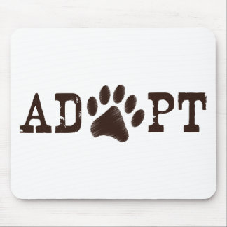 Adopt an animal mouse pad