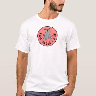 Adopt and Save a Life tee shirt