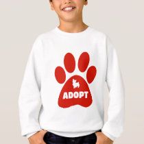 ADOPT ANIMALS SWEATSHIRT