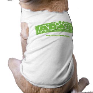 """Adopt at LRAV"" Dog Shirt"