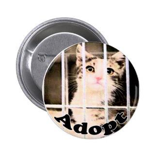 Adopt Badge Pinback Buttons
