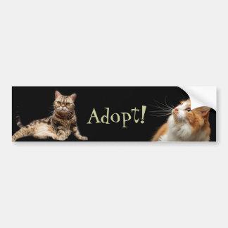 Adopt! Bumper Sticker