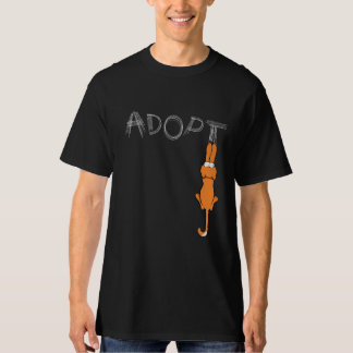 Adopt Cats Rusty Light Claw Marks T-Shirt