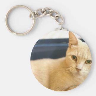 ADOPT Curly Basic Round Button Keychain