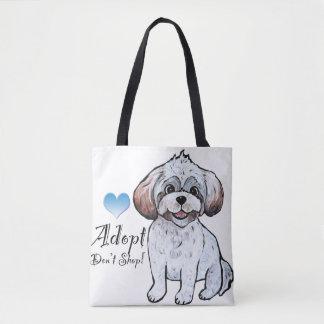 Adopt Don't Shop Bag