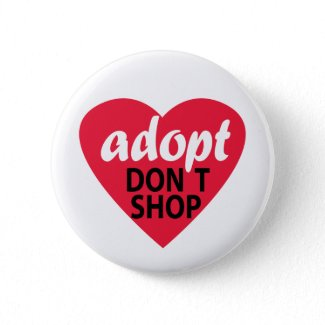 Adopt, Don't Shop button