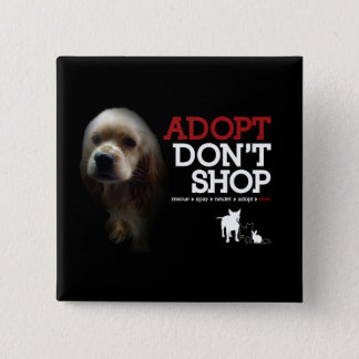 Adopt Don't Shop Button