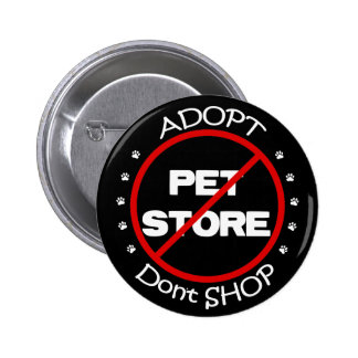 Adopt Don't Shop Button