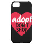 Adopt Dont Shop Cover For iPhone 5C