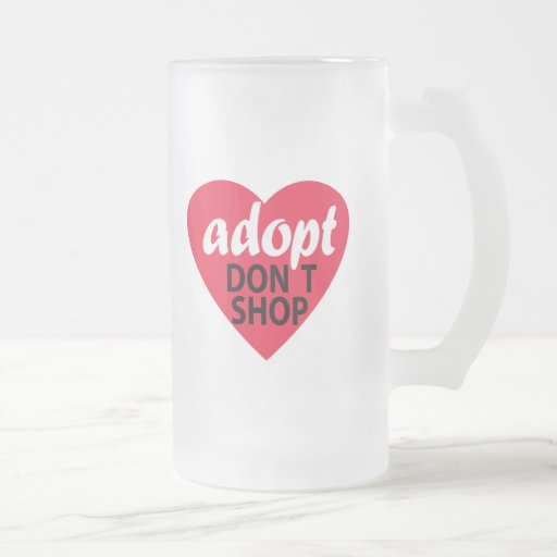 Adopt Dont Shop Coffee Mugs