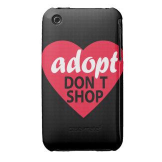 Adopt Dont Shop iPhone 3 Case-Mate Case