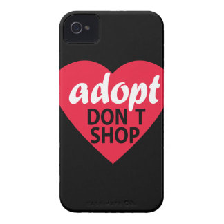 Adopt Dont Shop iPhone 4 Case-Mate Case