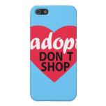 Adopt Dont Shop iPhone SE/5/5s Case