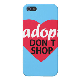 Adopt Dont Shop iPhone SE/5/5s Cover