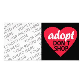 Adopt Dont Shop Photo Cards