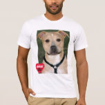 Adopt Don't Shop Pitbull Dog Breed T-Shirt