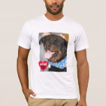 Adopt Don't Shop Rottweiler T-Shirt