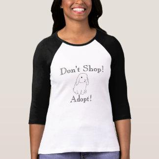 Adopt don't shop tshirt
