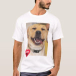 Adopt Don't Shop Yellow Lab T-Shirt