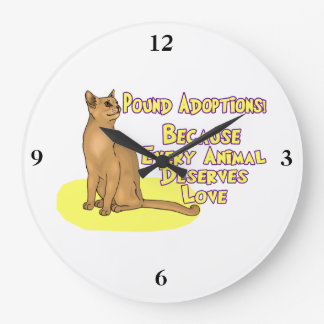 Adopt From The Pound Clock