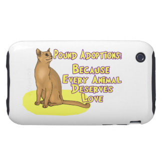 Adopt From The Pound iPhone 3 Tough Case