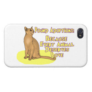 Adopt From The Pound iPhone 4/4S Case