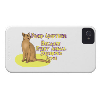 Adopt From The Pound iPhone 4 Case