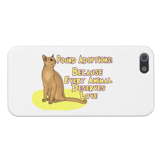 Adopt From The Pound iPhone SE/5/5s Case
