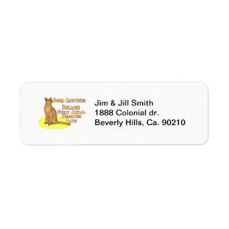 Adopt From The Pound Return Address Labels