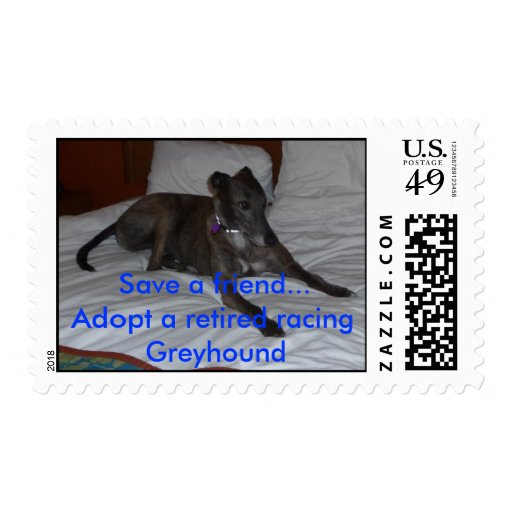 Adopt Greyhound Postage Stamps