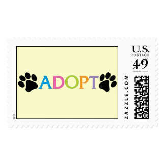 Adopt - Large Stamp