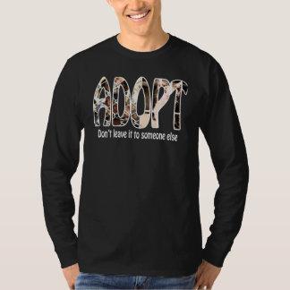 Adopt Long Sleeve T T-Shirt