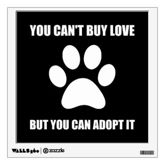 Adopt Love Wall Decal