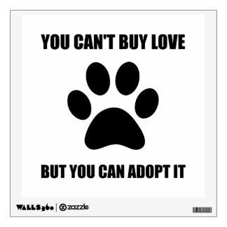 Adopt Love Wall Sticker