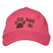 Adopt Me PawPrint Animal Adoption Embroidered Baseball Hat