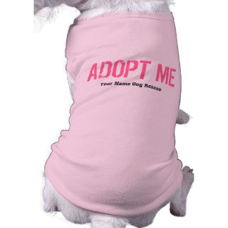 ADOPT ME Pink + Add Your Text Tee