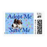Adopt Me, Save Me (Basset Hound) Stamps