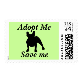 Adopt Me, Save Me (French Bulldog) Postage