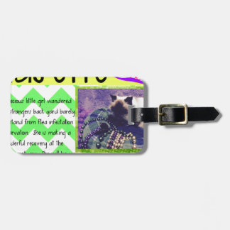 ADOPT Musette! Luggage Tag